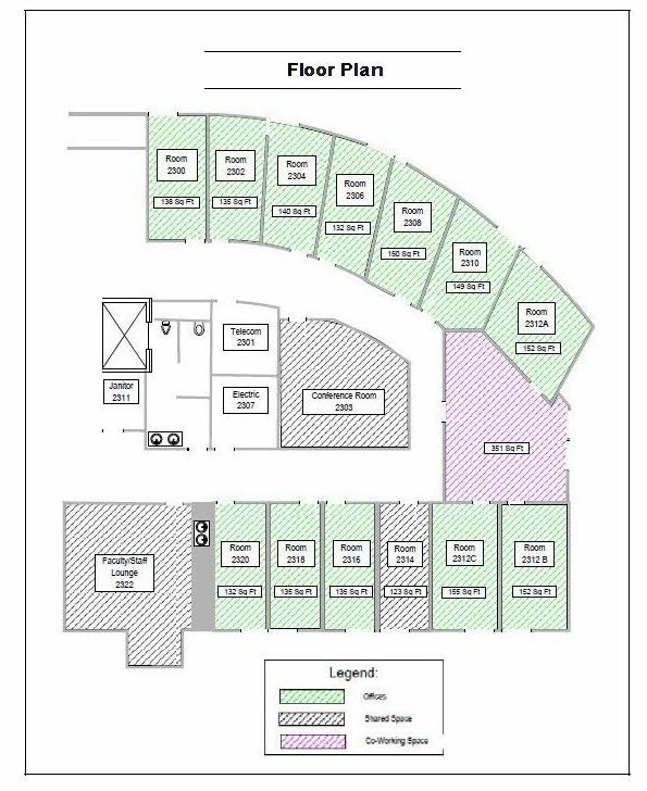 Bic Floor Plan: BIC Office And Meeting Space